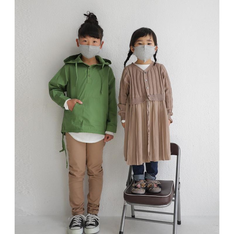 【即納】マスク 洗える 在庫あり 綿100% 洗えるマスク 布マスク 子供用 小さめ 綿マスク 夏 夏用 送料無料!キッズマスク・10ptメール便可|antiqua|11