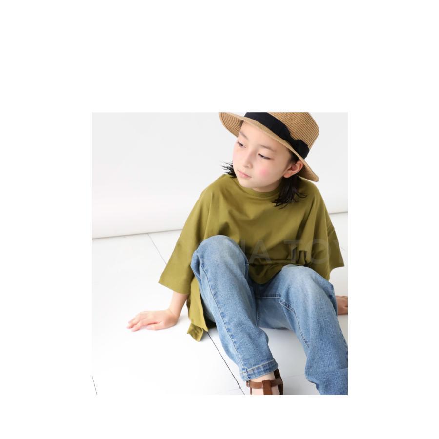 Tシャツ キッズ 綿100% カットソー 無地 アンティカ・3月30日0時〜再再販。メール便不可 TOY|antiqua|11