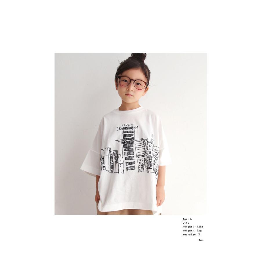 キッズ 子供服 トップス Tシャツ イラストT 半袖 アンティカ・3月10日0時〜再販。100ptメール便可 TOY|antiqua|03