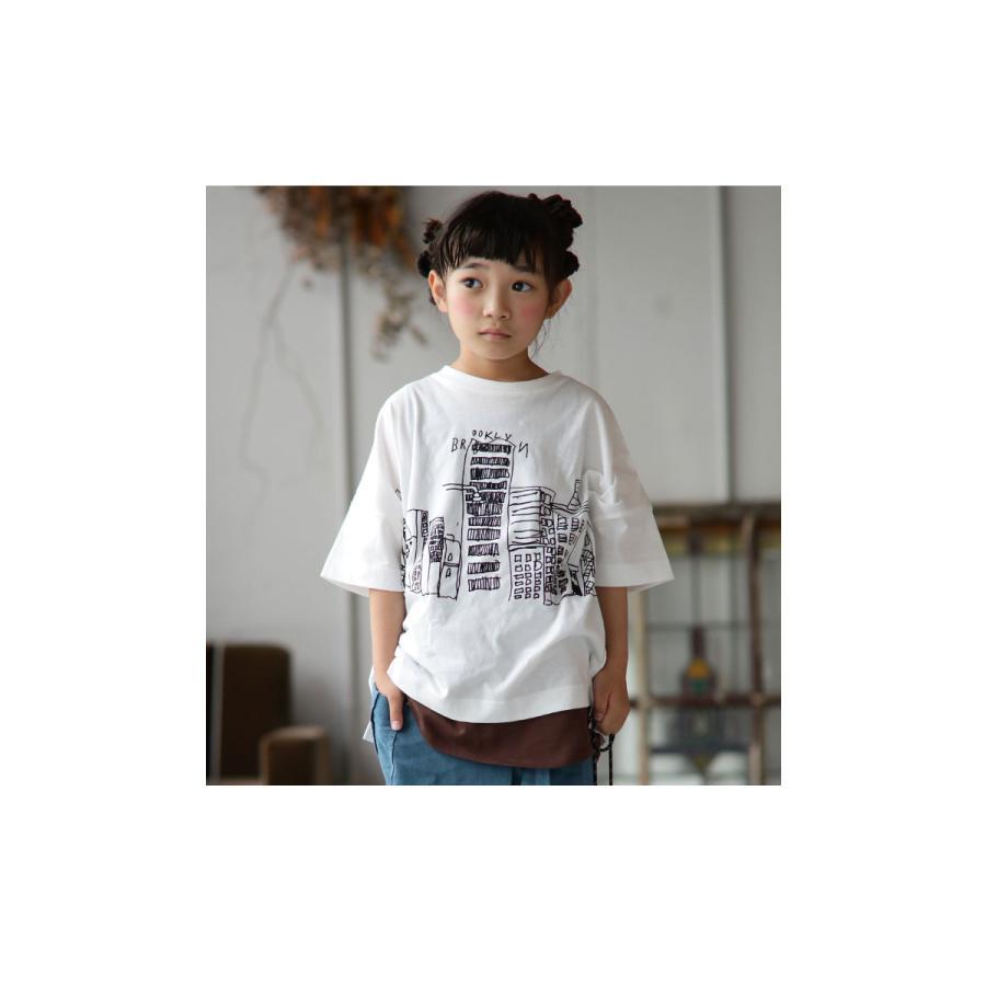 キッズ 子供服 トップス Tシャツ イラストT 半袖 アンティカ・3月10日0時〜再販。100ptメール便可 TOY|antiqua|09