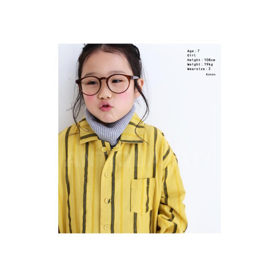 シャツ キッズシャツ シャツジャケット ストライプ キッズ 長袖・メール便不可 TOY antiqua 09