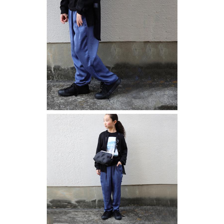 サテンパンツ サテン 子供服 長ズボン ボトムス ジュニア ・4月5日0時〜発売。メール便不可 antiqua 13