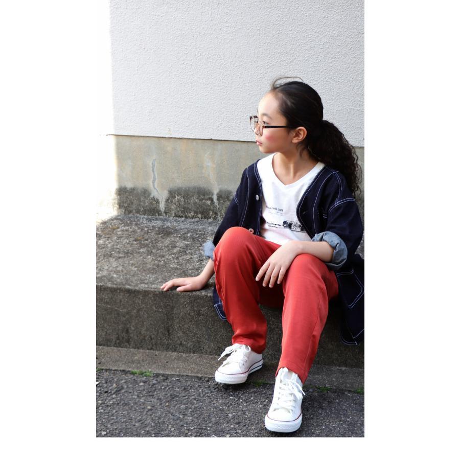 サテンパンツ サテン 子供服 長ズボン ボトムス ジュニア ・4月5日0時〜発売。メール便不可 antiqua 06