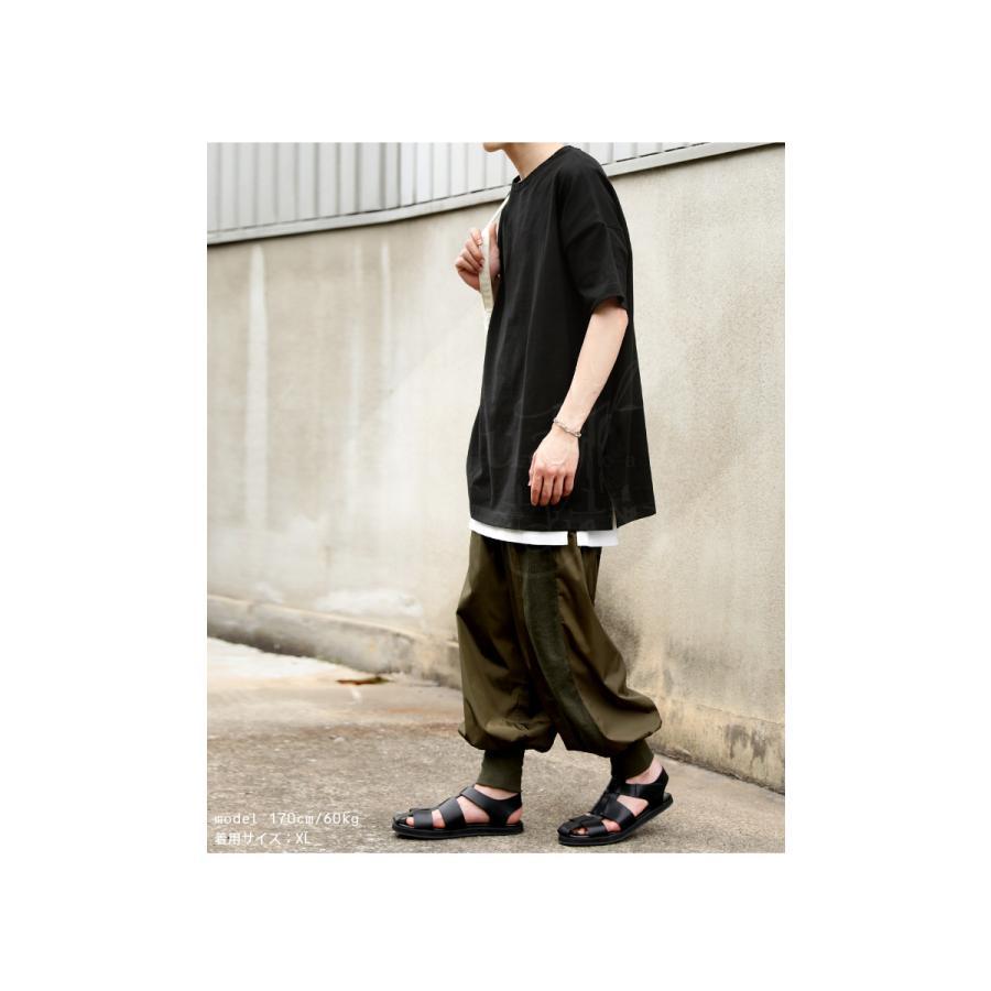 トップス プルオーバー メンズ 五分袖 綿 綿100% バスクTシャツ・3月5日0時〜再再販。メール便不可|antiqua|18