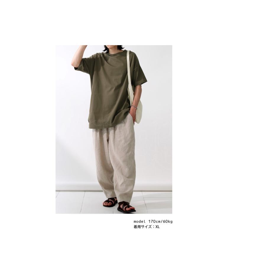 トップス プルオーバー メンズ 五分袖 綿 綿100% バスクTシャツ・3月5日0時〜再再販。メール便不可|antiqua|21