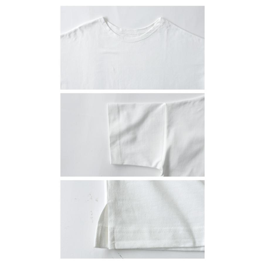 Tシャツ レディース トップス ゆったり プルオーバー 五分袖 綿100% 大きいサイズ・3月5日0時〜再再販。メール便不可 母の日|antiqua|13