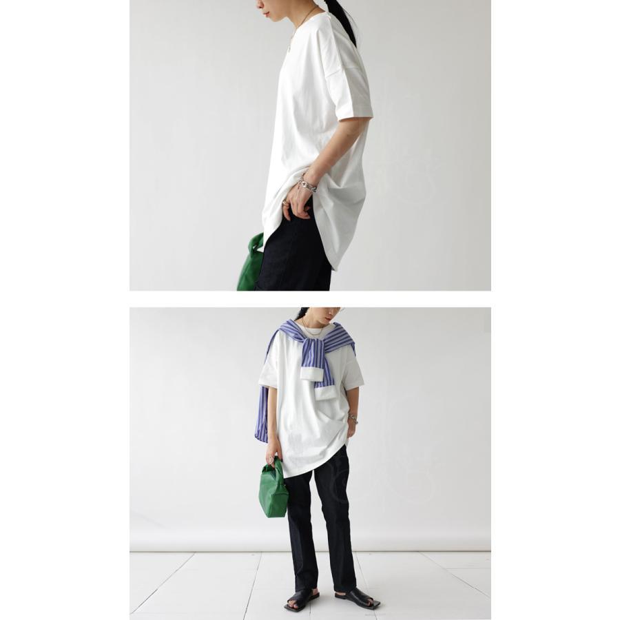 Tシャツ レディース トップス ゆったり プルオーバー 五分袖 綿100% 大きいサイズ・3月5日0時〜再再販。メール便不可 母の日|antiqua|16