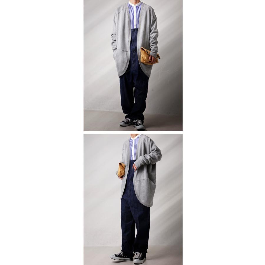 カーディガン メンズ トップス アウター 羽織り 綿100・10月14日10時〜再再販。メール便不可|antiqua|11