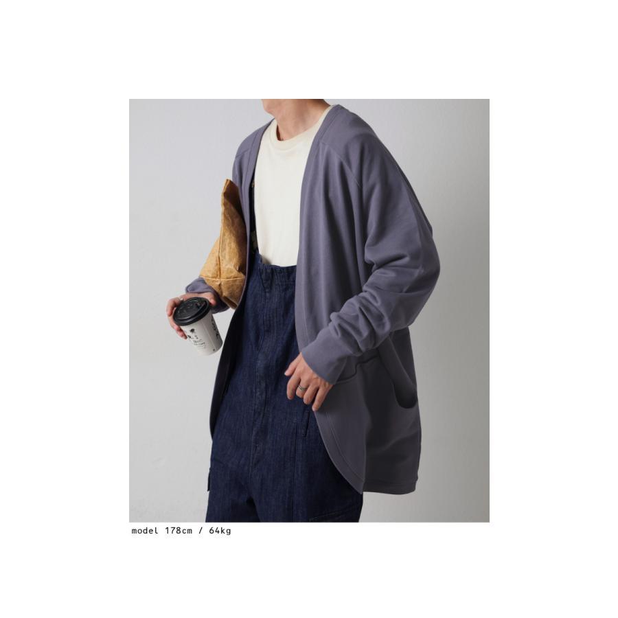 カーディガン メンズ トップス アウター 羽織り 綿100・10月14日10時〜再再販。メール便不可|antiqua|05