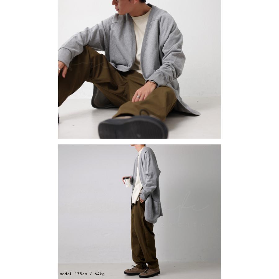 カーディガン メンズ トップス アウター 羽織り 綿100・10月14日10時〜再再販。メール便不可|antiqua|09