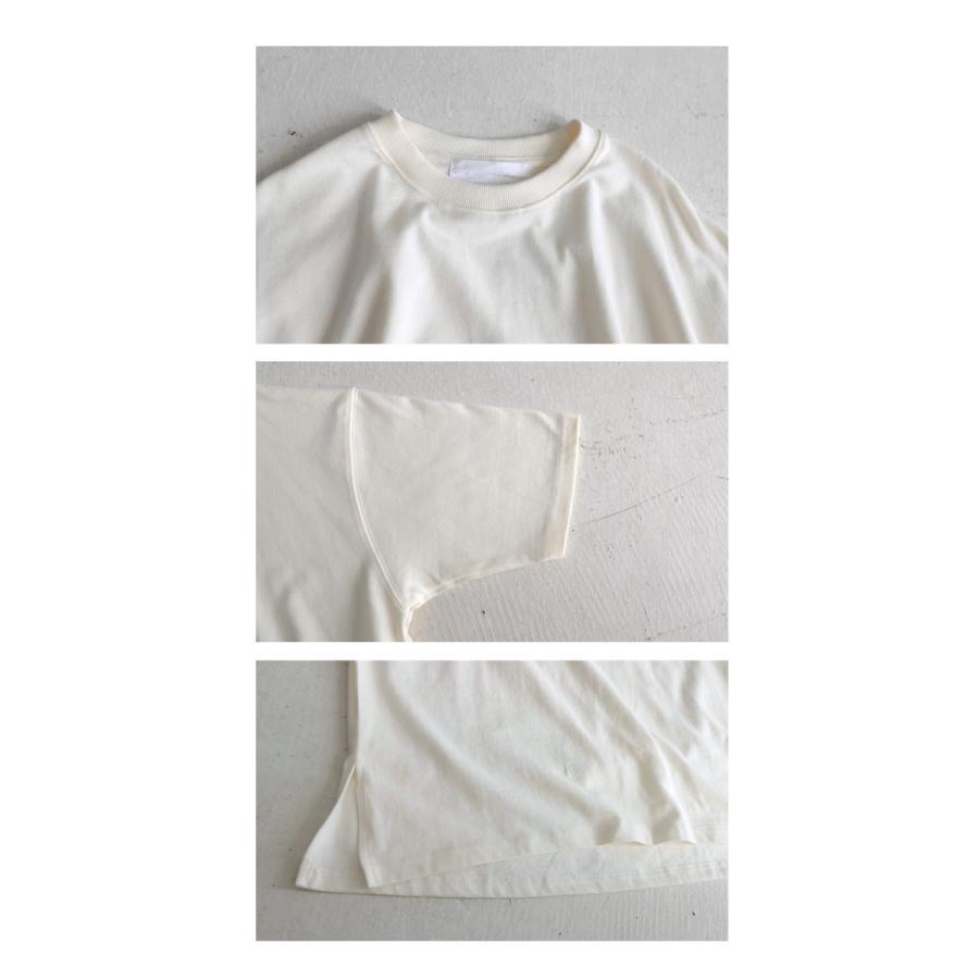 ビッグシルエット Tシャツ レディース バスクT 綿100・9月19日10時〜再再販。メール便不可|antiqua|13