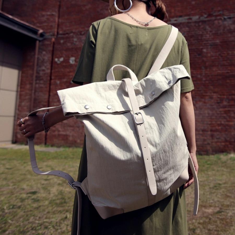 バッグ 鞄 リュック バックパック BAG ベルト 大容量 ヴィンテージデザインバッグ 送料無料・4月25日0時〜再再販。メール便不可 母の日|antiqua|16