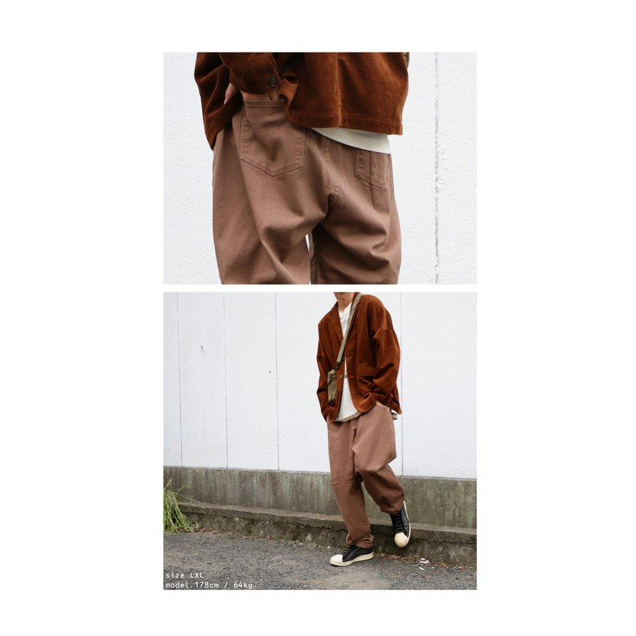 サーカスパンツ メンズ ボトムス 長ズボン デニム カラーパンツ・9月4日10時〜再再販。メール便不可|antiqua|16