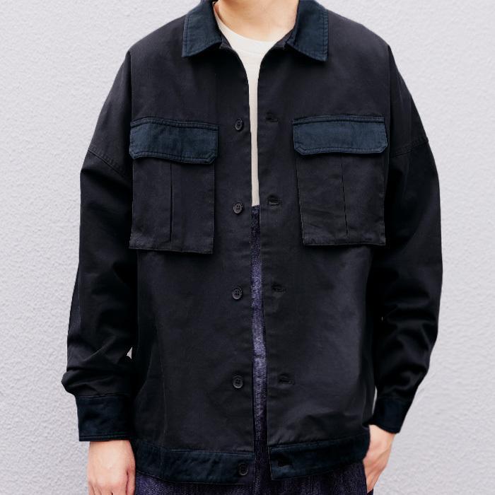 コットンカバーオール カバーオール メンズ シャツ 送料無料・5月15日0時〜再再販。メール便不可|antiqua|16