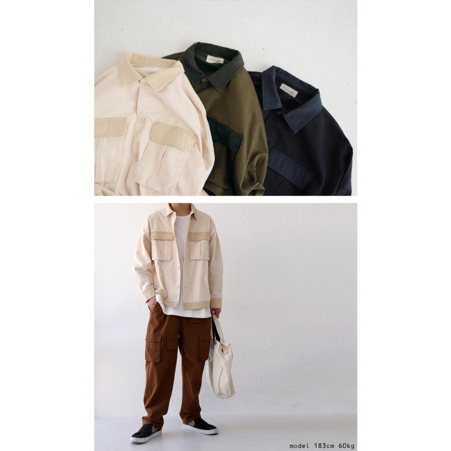 コットンカバーオール カバーオール メンズ シャツ 送料無料・5月15日0時〜再再販。メール便不可|antiqua|03
