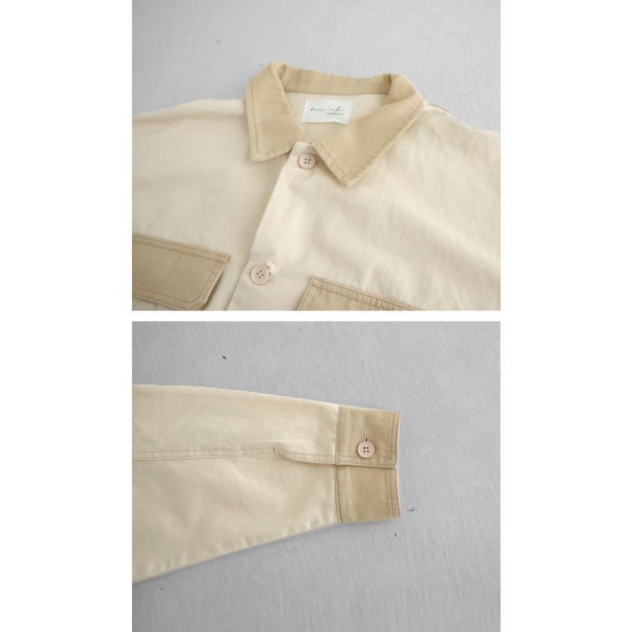 コットンカバーオール カバーオール メンズ シャツ 送料無料・5月15日0時〜再再販。メール便不可|antiqua|07