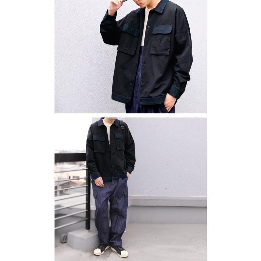 コットンカバーオール カバーオール メンズ シャツ 送料無料・5月15日0時〜再再販。メール便不可|antiqua|09