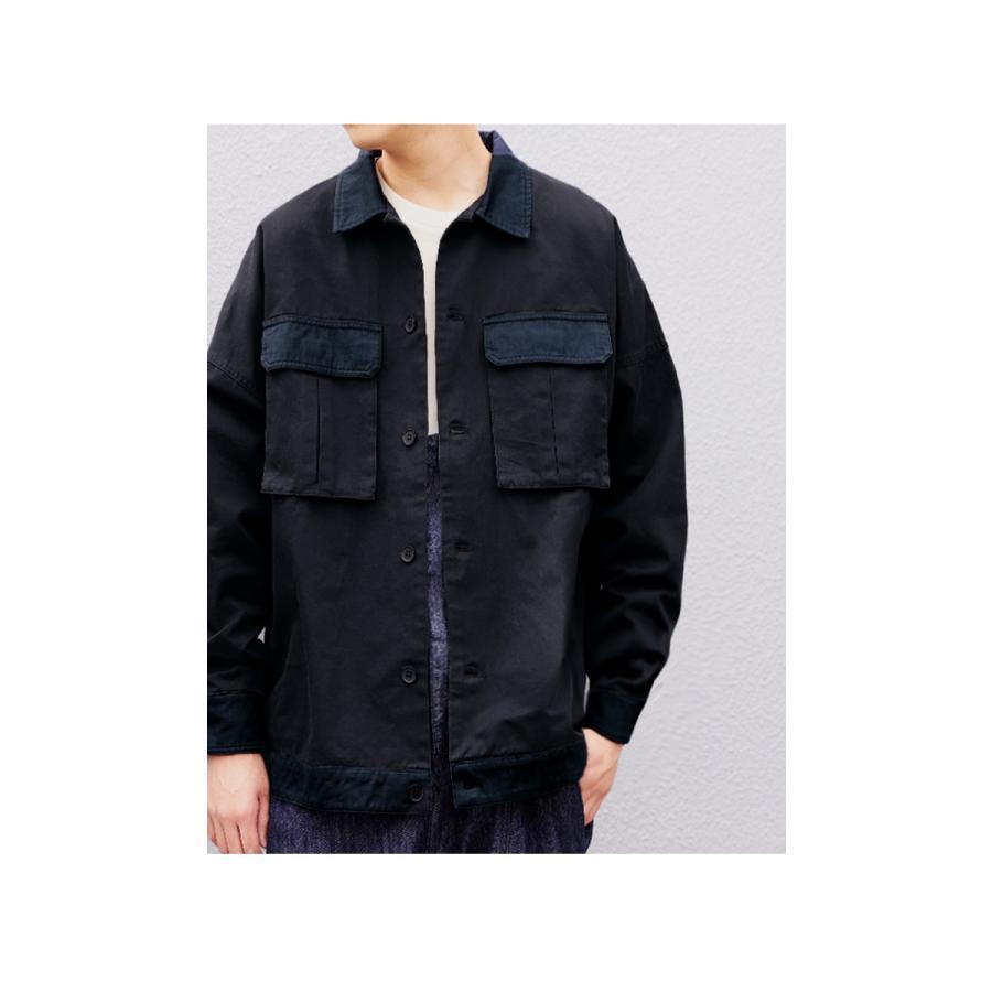 コットンカバーオール カバーオール メンズ シャツ 送料無料・5月15日0時〜再再販。メール便不可|antiqua|10