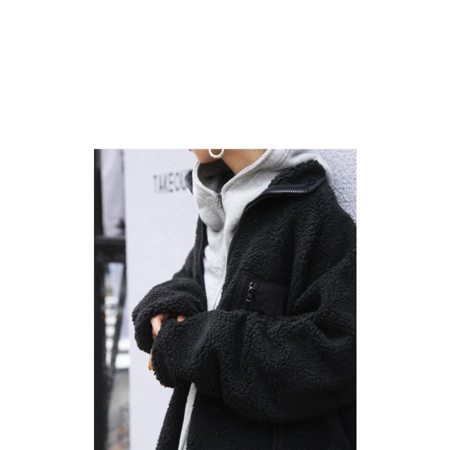 アウター コート ロングコート レディース 長袖 ボア リバーシブルボアコート・再販。メール便不可 母の日|antiqua|04