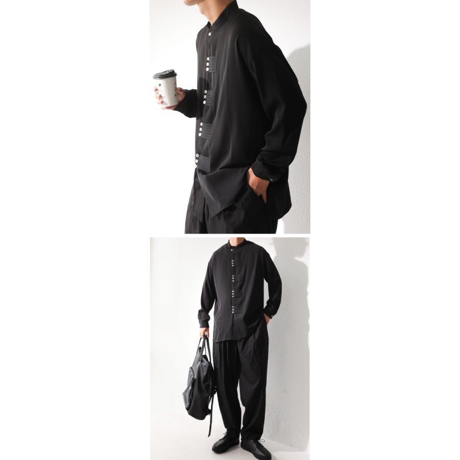 デザインボタンシャツ シャツ メンズ トップス 送料無料・9月4日10時〜発売。メール便不可|antiqua|11