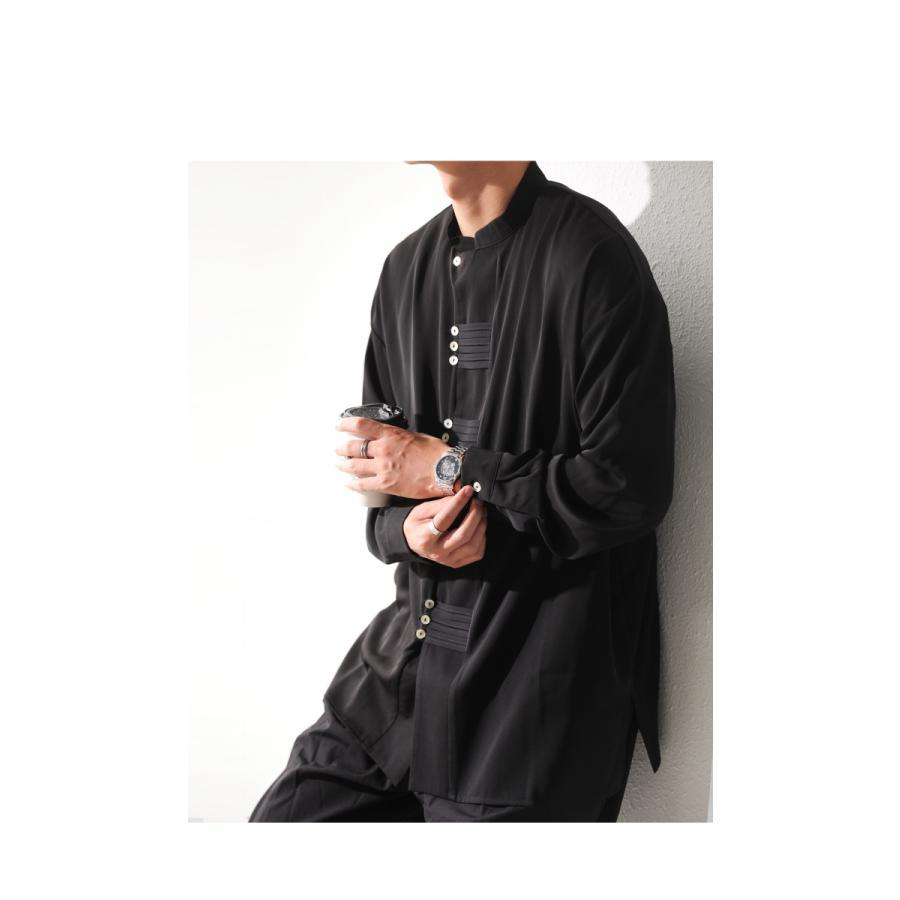 デザインボタンシャツ シャツ メンズ トップス 送料無料・9月4日10時〜発売。メール便不可|antiqua|12