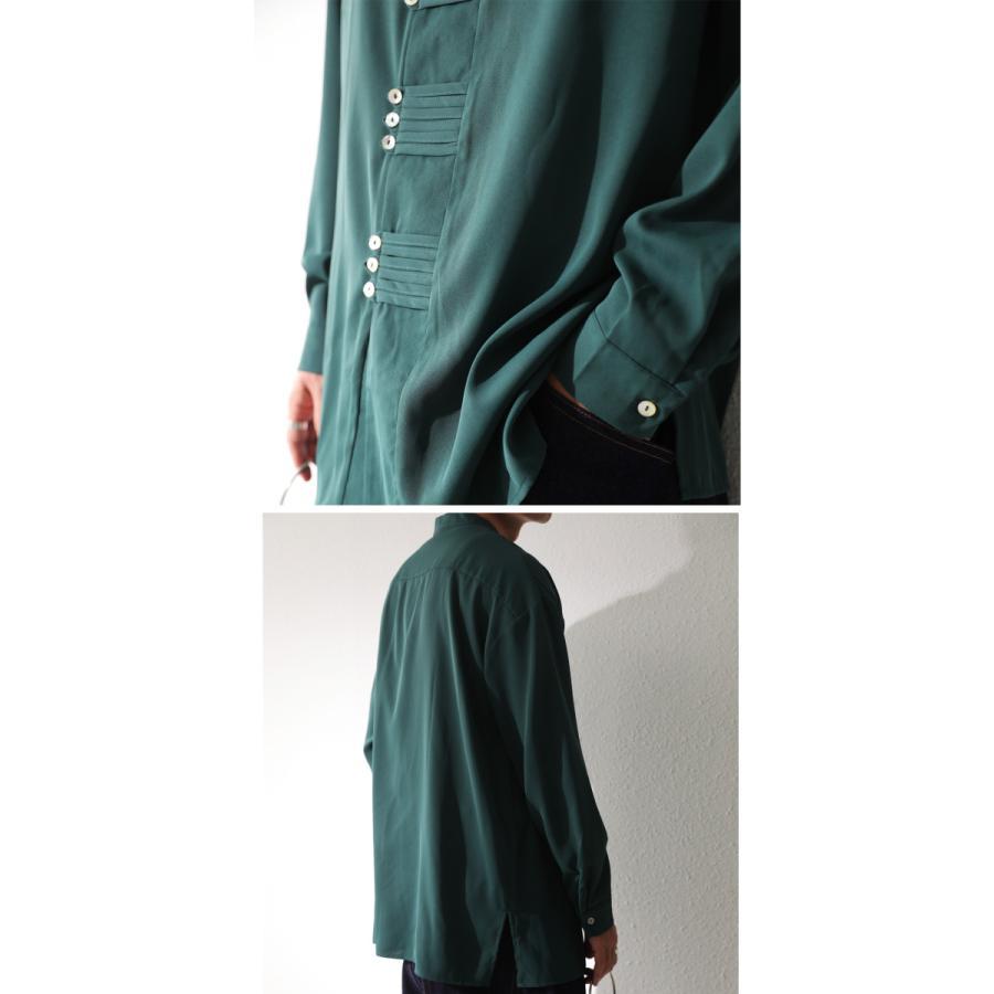 デザインボタンシャツ シャツ メンズ トップス 送料無料・9月4日10時〜発売。メール便不可|antiqua|14
