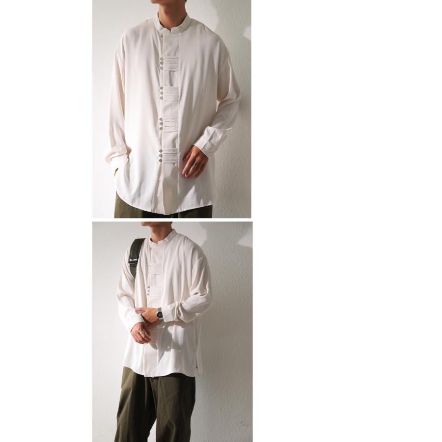 デザインボタンシャツ シャツ メンズ トップス 送料無料・9月4日10時〜発売。メール便不可|antiqua|16