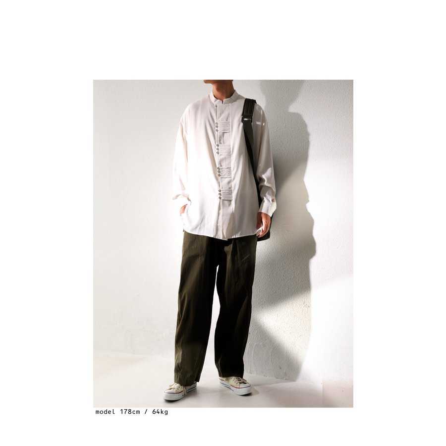 デザインボタンシャツ シャツ メンズ トップス 送料無料・9月4日10時〜発売。メール便不可|antiqua|17
