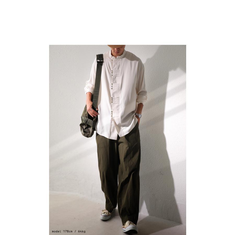 デザインボタンシャツ シャツ メンズ トップス 送料無料・9月4日10時〜発売。メール便不可|antiqua|05