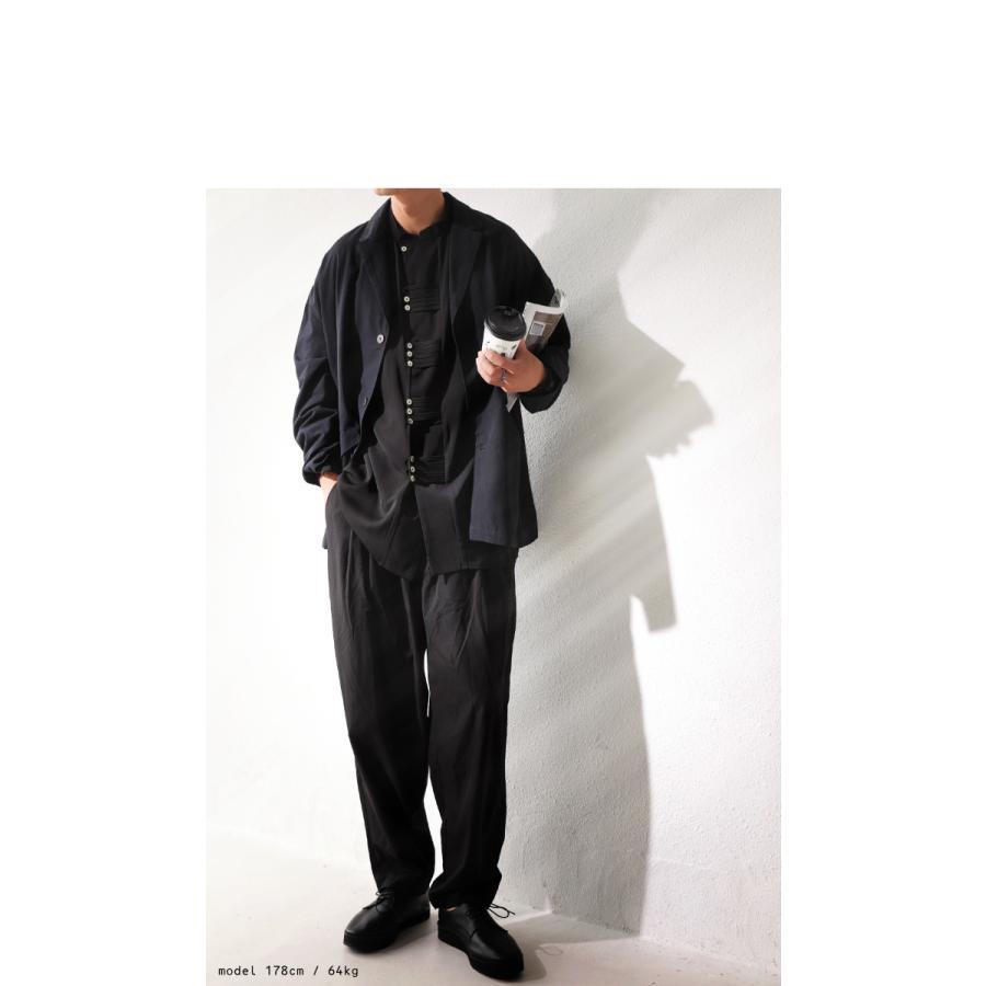 デザインボタンシャツ シャツ メンズ トップス 送料無料・9月4日10時〜発売。メール便不可|antiqua|10