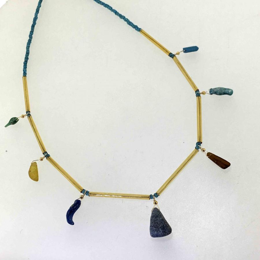 ご売約済み 古代ガラスのネックレス antiquebeads3store 02