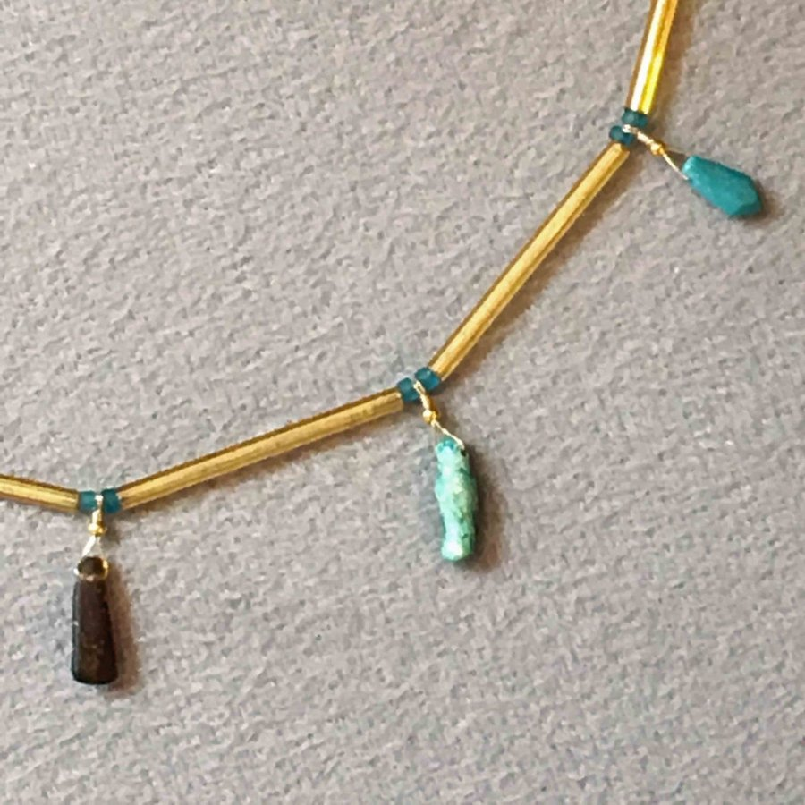 ご売約済み 古代ガラスのネックレス antiquebeads3store 04