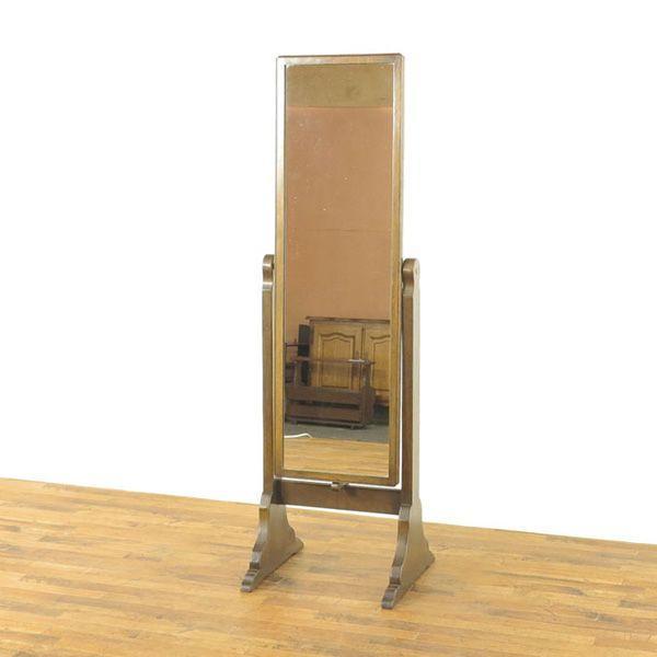 シュバルミラー 50735 1930年頃イギリスアンティーク家具 スッキリとした洗練されたデザイン 素朴な雰囲気 姿見鏡 スタンドミラー シュバルミラー 50735 1930年頃イギリスアンティーク家具 スッキリとした洗練されたデザイン 素朴な雰囲気 姿見鏡 スタンドミラー