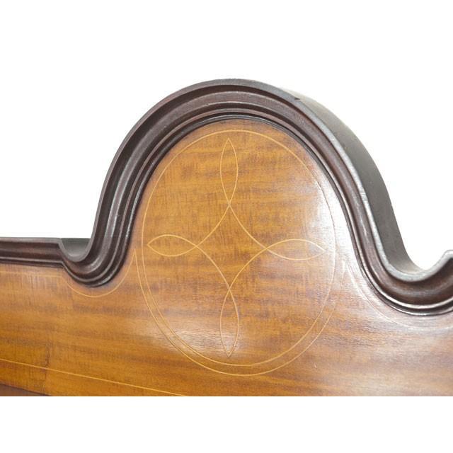 アンティーク家具 イギリス 1920年頃 ショーケース 美しい曲面ガラス マホガニー材 飾り棚 ディスプレイキャビネット  55242|antiquesflex|03