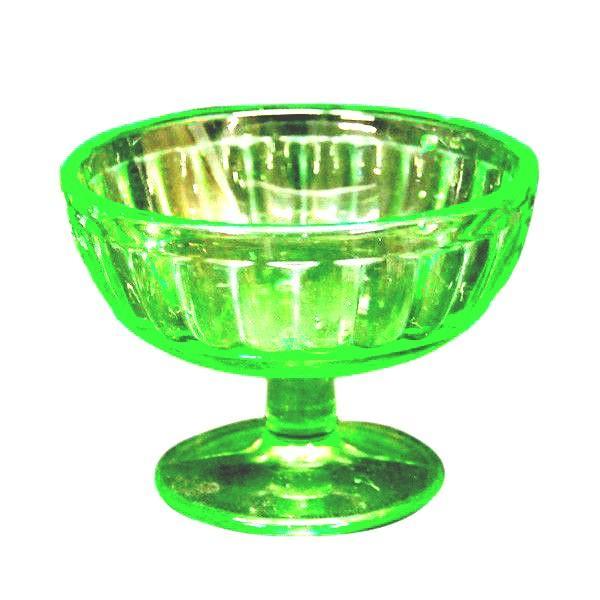 氷コップ 昭和レトロ デットストック グリーン|antiquesjikoh