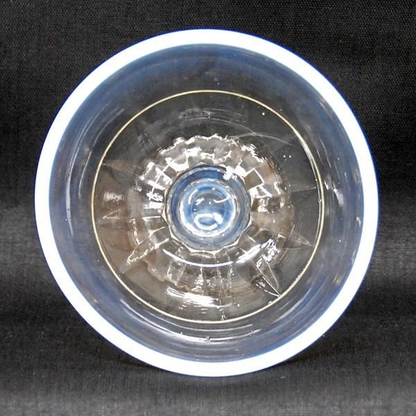氷コップ 昭和レトロ デッドストック 乳白色(淵の部分) antiquesjikoh 03