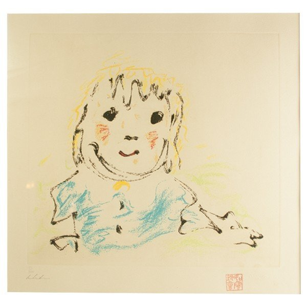 ジョンレノン 「Beautiful Boy」 限定300部 シルクスクリーン 版画|antiquesjikoh|02