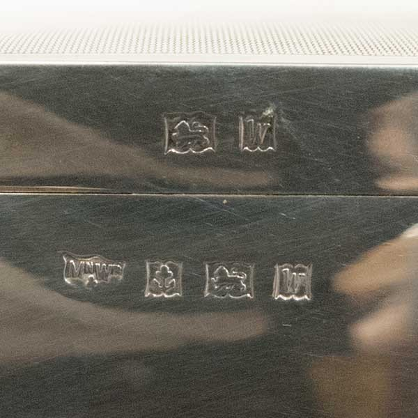 マッピン&ウェッブ 銀製 シガーレットケース 煙草入れ|antiquesjikoh|07