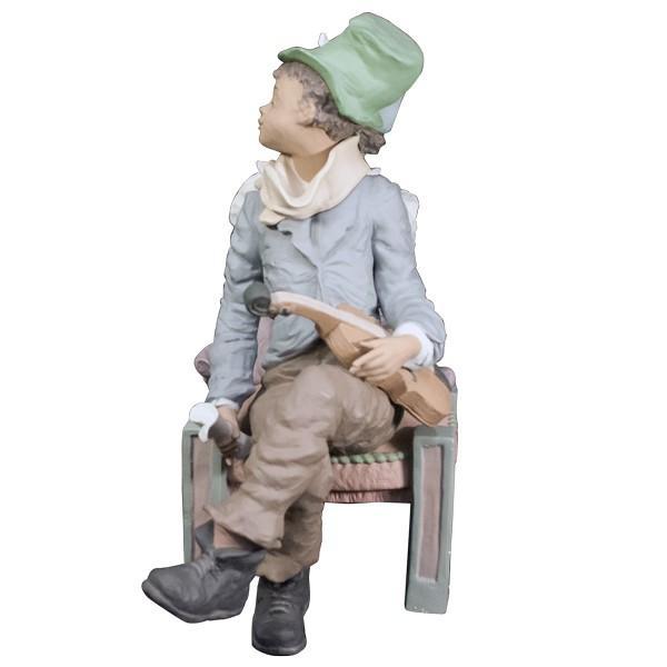 LLADRO リヤドロ 椅子に座る男と女像  SAN ISIDRO |antiquesjikoh|04