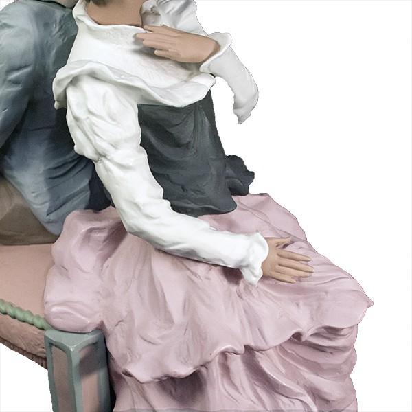 LLADRO リヤドロ 椅子に座る男と女像  SAN ISIDRO |antiquesjikoh|10
