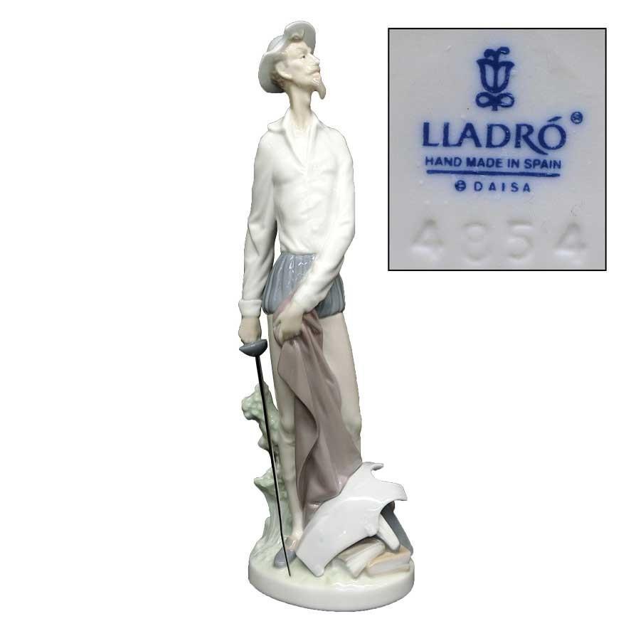 リヤドロ(lladro) DAISA フィギュリン ドン・キホーテ 陶器人形 t-091|antiquesjikoh
