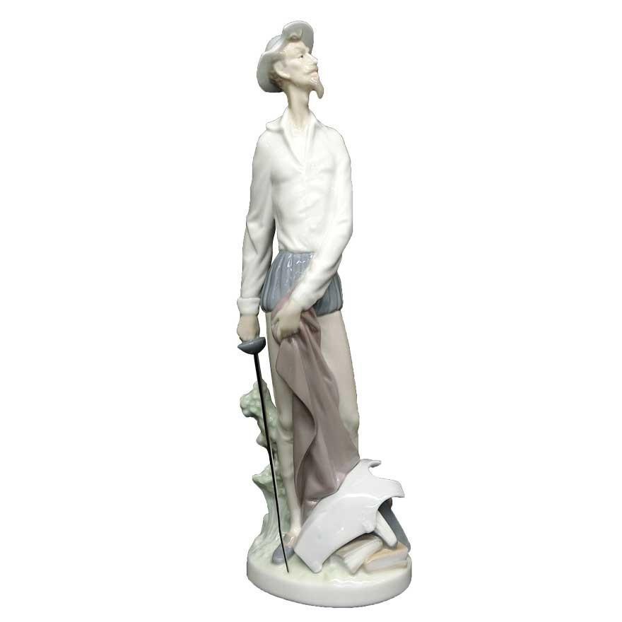 リヤドロ(lladro) DAISA フィギュリン ドン・キホーテ 陶器人形 t-091|antiquesjikoh|02
