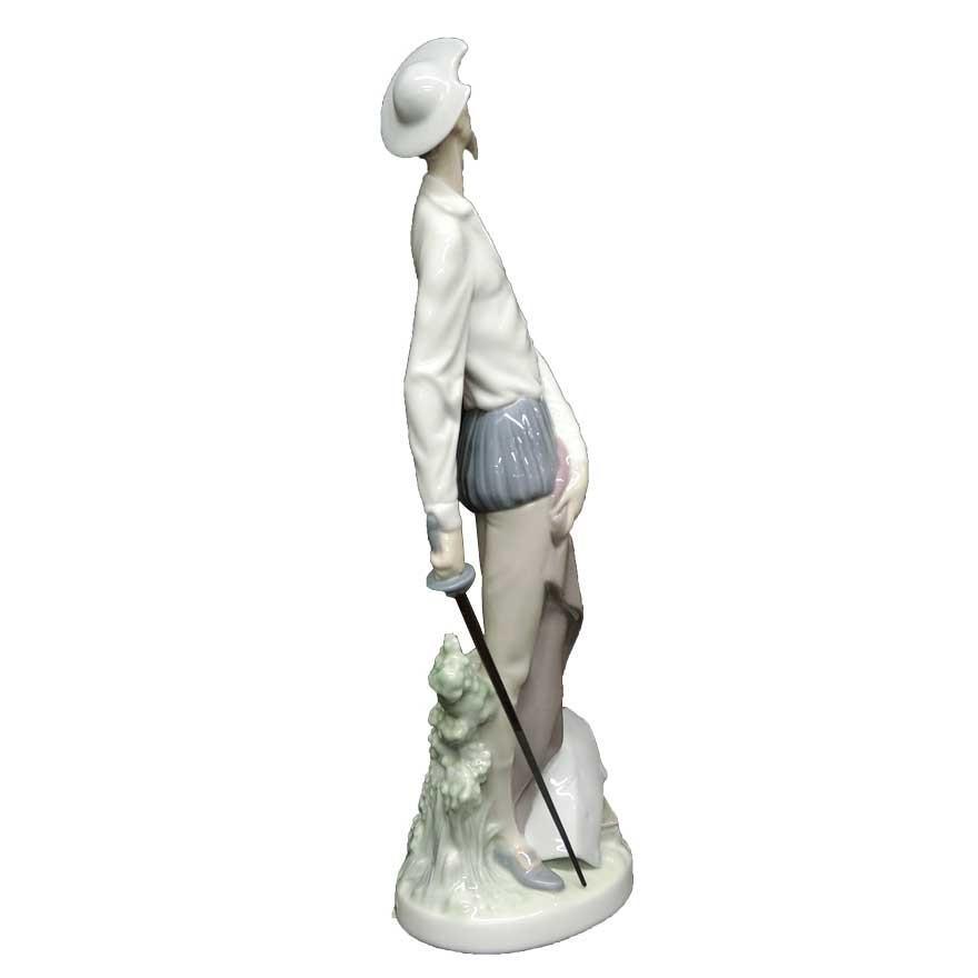 リヤドロ(lladro) DAISA フィギュリン ドン・キホーテ 陶器人形 t-091|antiquesjikoh|04
