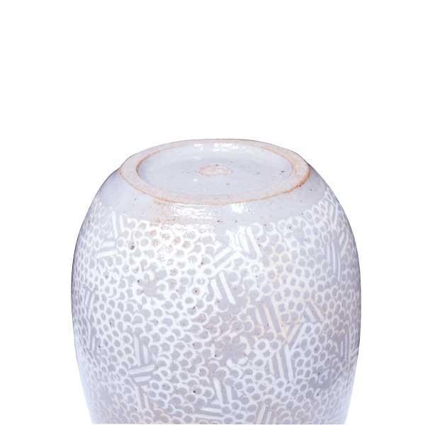 金田鹿男 花瓶 「少紋三島手加花生」 |antiquesjikoh|04