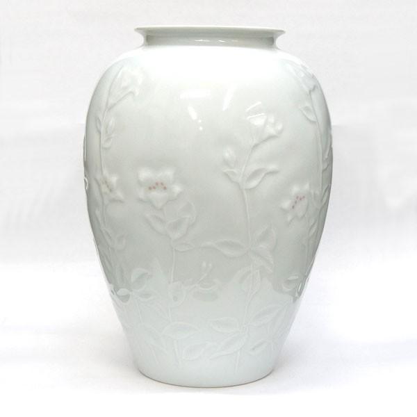 thumbnail 3 - Korean Living National Treasure Shin Souhiro White Porcelain Vase H 24.5cm Used
