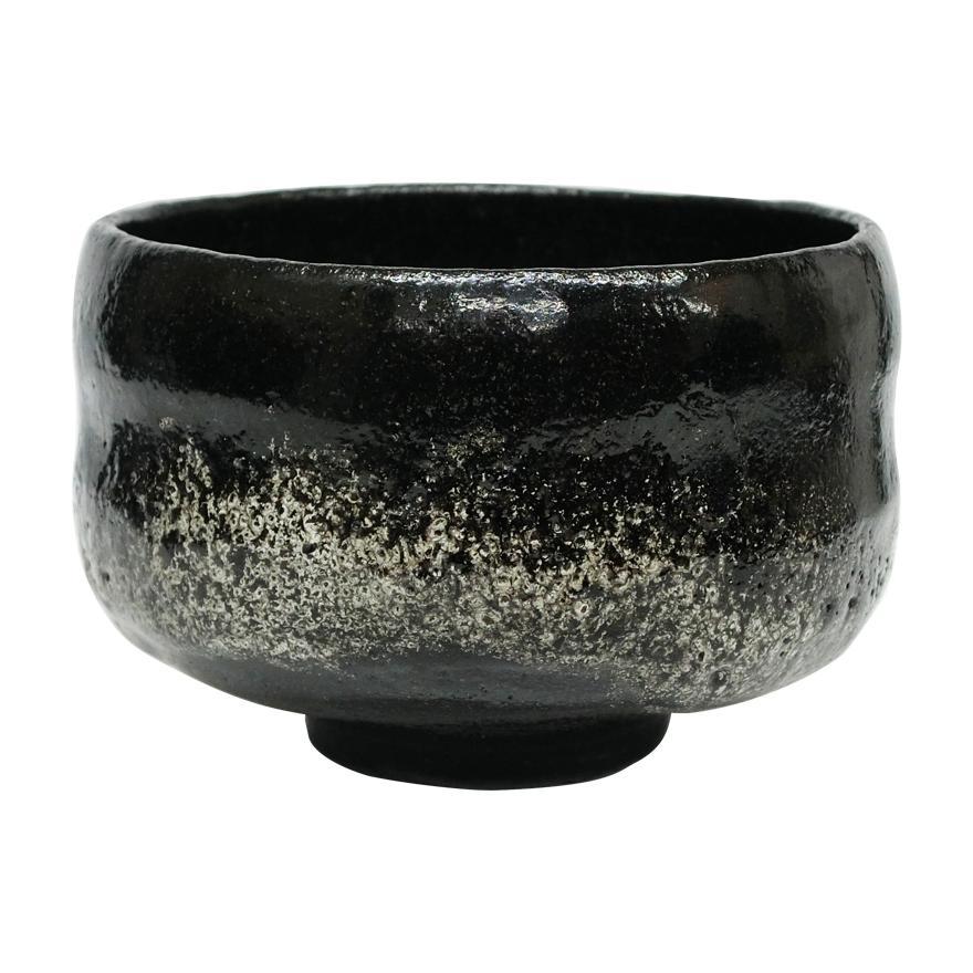 佐々木昭楽 のんこう写荒磯茶碗 茶道具 共箱 y-251|antiquesjikoh|02