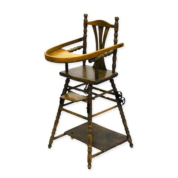 アンティーク ドールチェア ドール用ベビーチェア フランス製|antiquesjikoh|02
