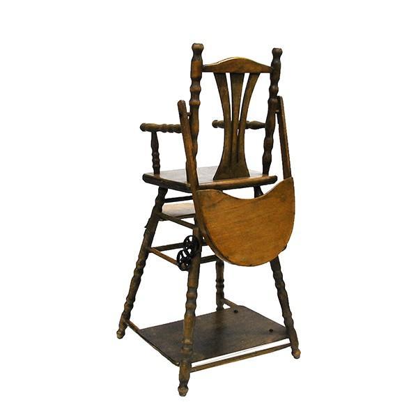 アンティーク ドールチェア ドール用ベビーチェア フランス製|antiquesjikoh|11