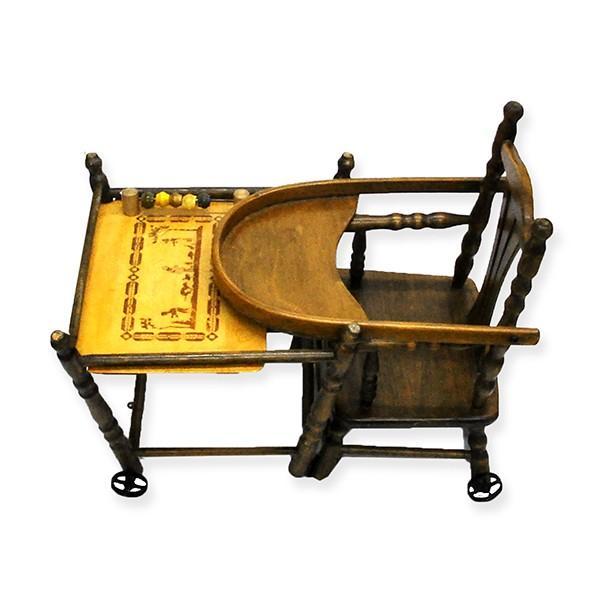 アンティーク ドールチェア ドール用ベビーチェア フランス製|antiquesjikoh|12