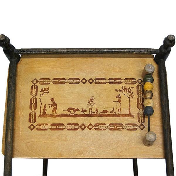アンティーク ドールチェア ドール用ベビーチェア フランス製|antiquesjikoh|13